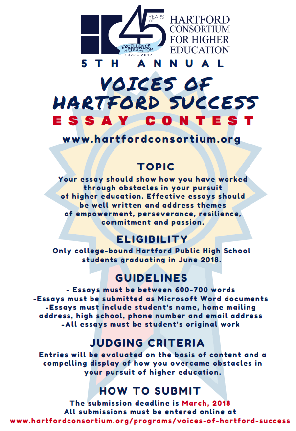 high school seniors enter your college essay in the voices of  voices of hartford